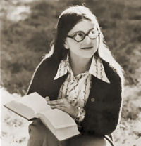 Patricia Apple With Book