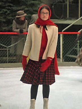 Penny on the rink